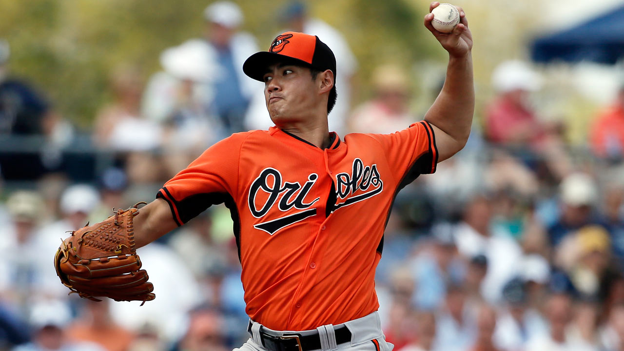 Chen goes two strong as O's split-squad edges Rays